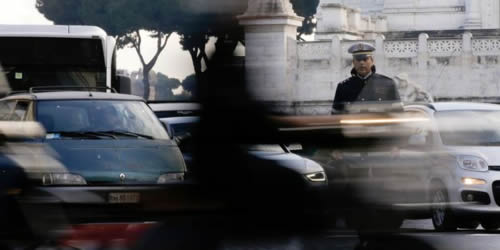 Déplacement à Rome