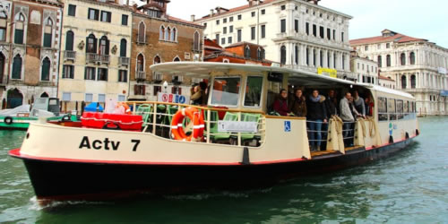 se déplacer à Venise