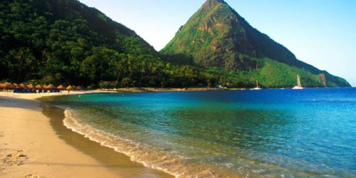 Les plages de St Lucia