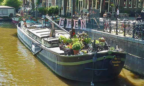 Musée de la Péniche à Amsterdam