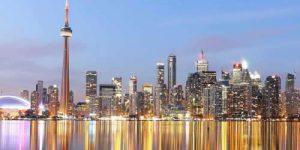 Vue panoramique de Toronto
